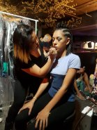 Behind the Scenes RAW Transcend Runway Showcase 2017 - Makeup by Labelleame Beauty